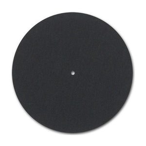 Black 3mm Felt Turntable slipmats