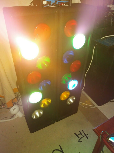 RETRO FLASHING DISCO LIGHT BOXES PAR38