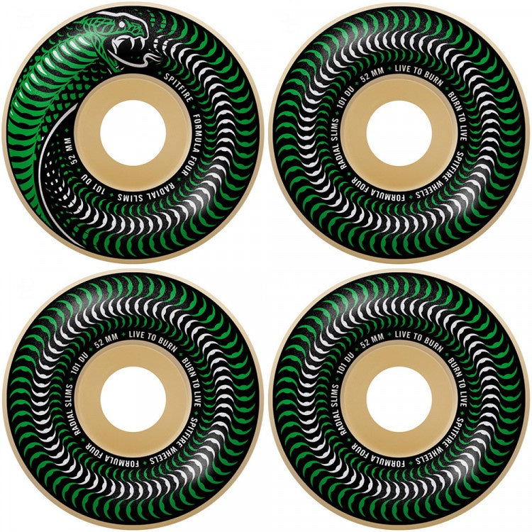 Spitfire Wheels Formula Four - Venomous Radial Slims 51mm