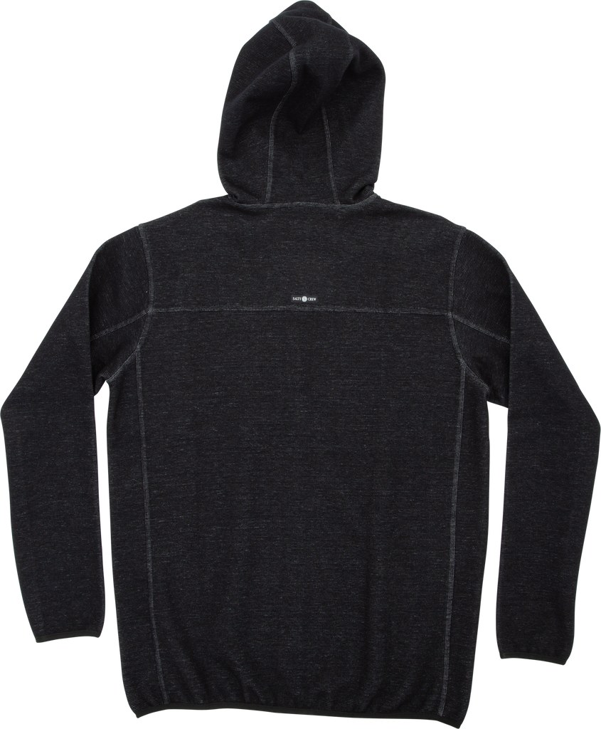 Salty Crew Tempest Fleece Jacket - Black