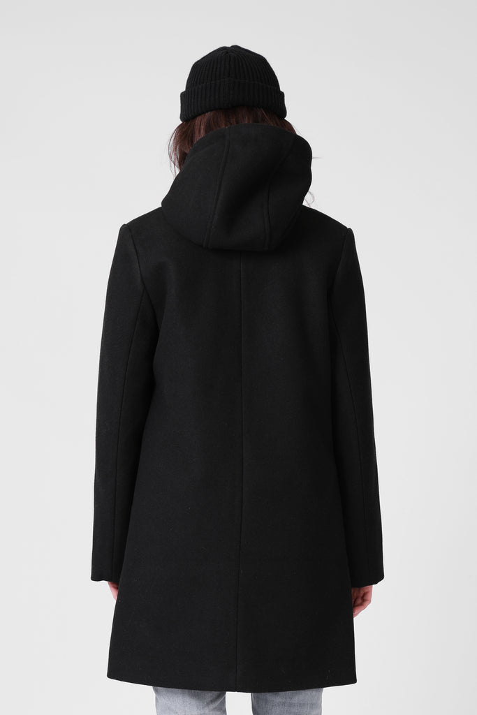 RPM Milford Overcoat - Black