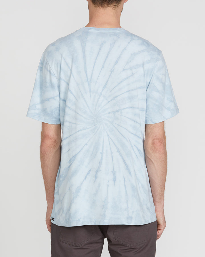 Volcom Deadly Stonewash Tee - Pale Blue