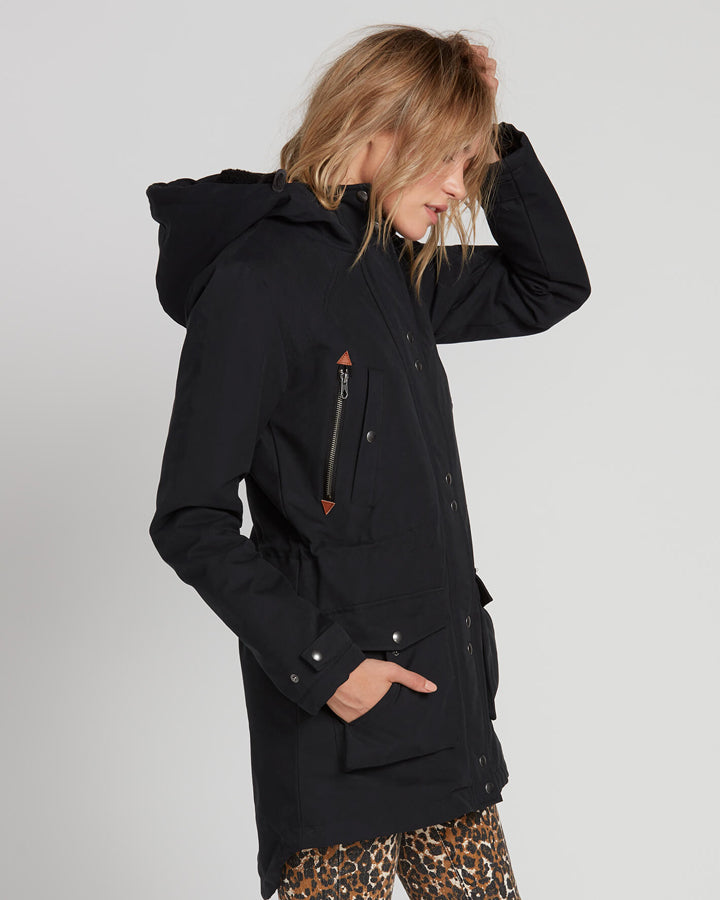 Volcom Walk On By Parka - Black