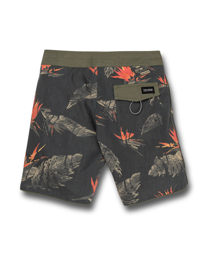 Volcom Floral Erupter Trunk - Black