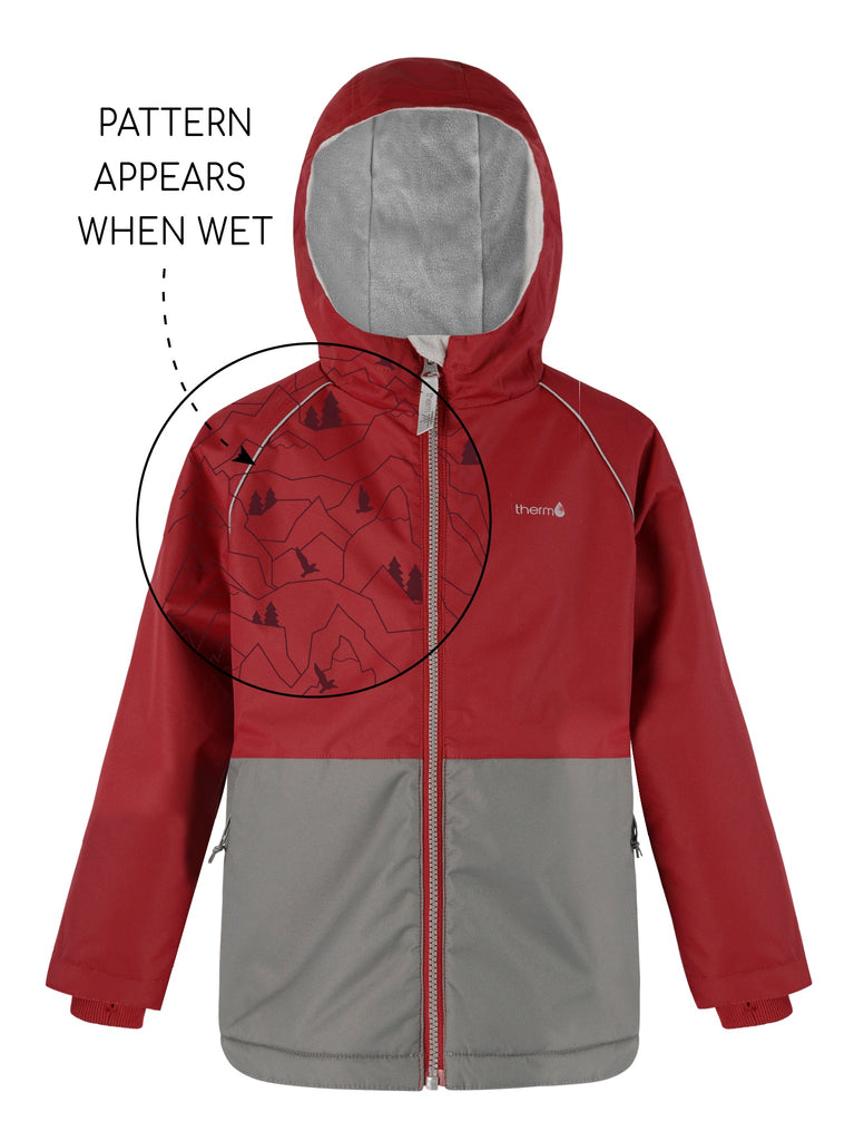 Therm Splashmagic Storm Jacket - Deep Red