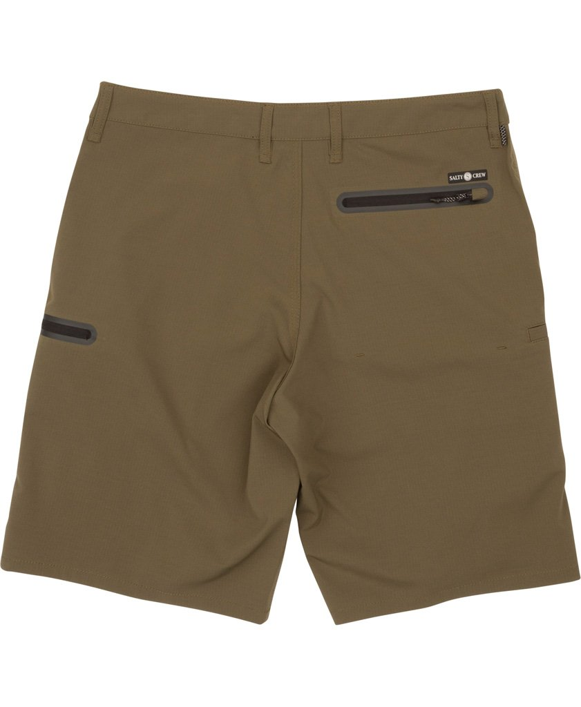 Salty Crew High Seas Ripstop Short - Military
