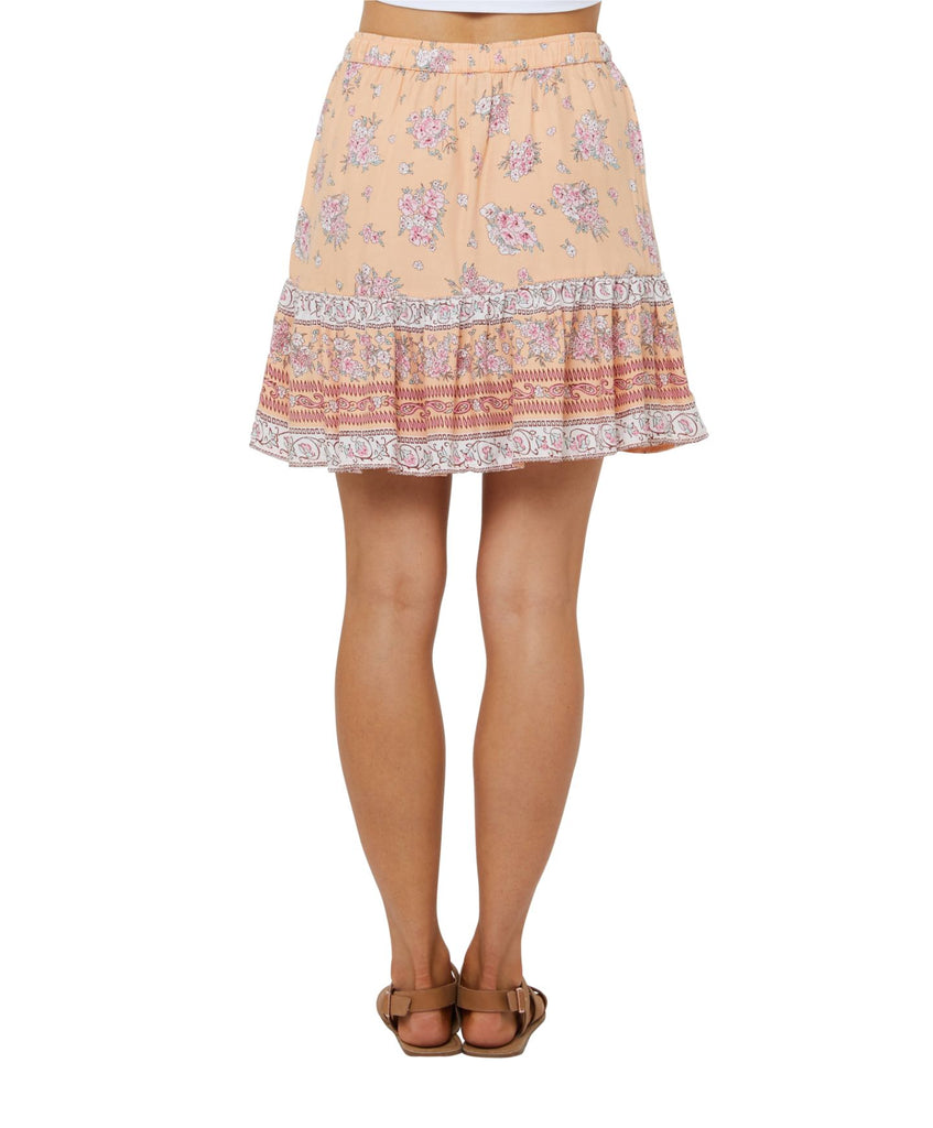 O'Neill Carrow Mini Skirt - Sherbet Floral
