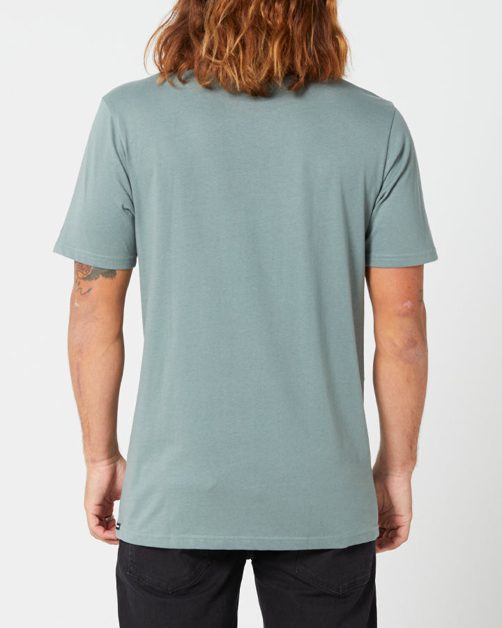 Volcom Solid S/S Tee - Fir Green