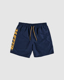 Huffer Staple Trunk/Stream - Navy/Orange