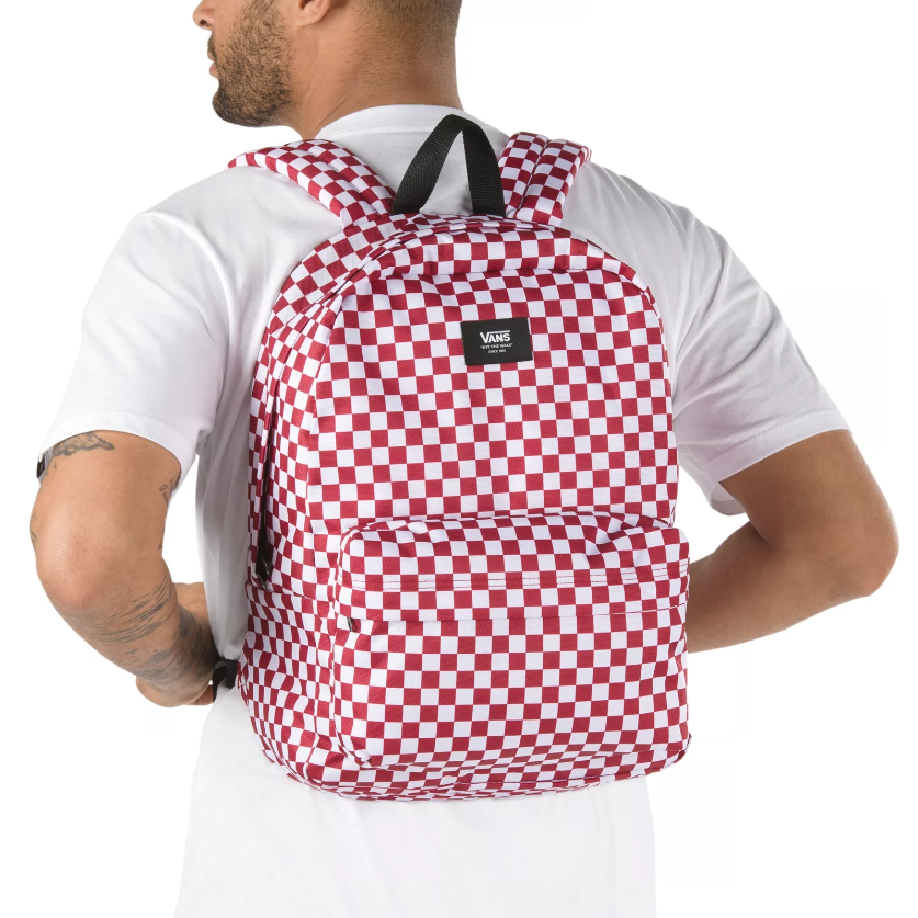 Vans Old Skool III Backpack - Chili Pepper Checkerboard