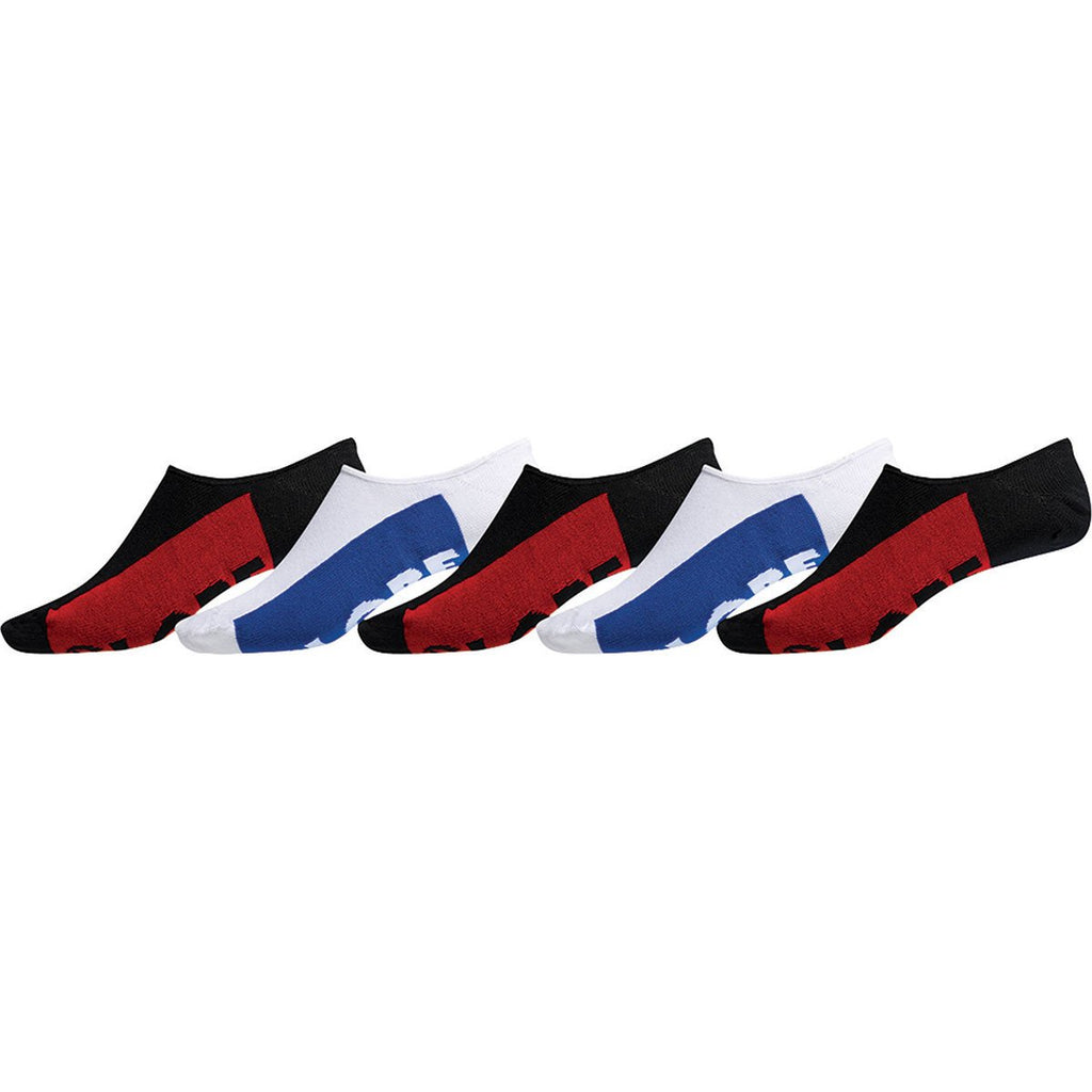 Globe Invisible Socks 5 Pack - Size 7-11