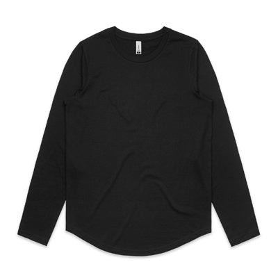 AS Colour Curve LS Tee - Black