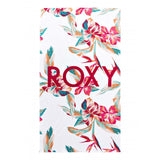 Roxy Cold Water Printed Towel - Bright White Tropical