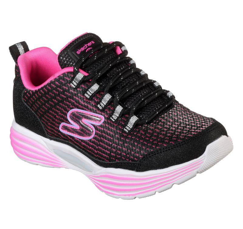 Skechers Girls Lights - Luminators Luxe - Black/Pink