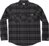Salty Crew Boatyard Tech Flannel - Black