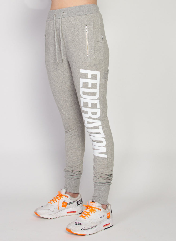 Federation Escape Trackies - Lean 2.0 Grey Marle