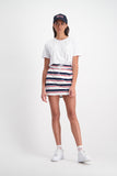Huffer Fairfax Blondie Skirt - White/Navy