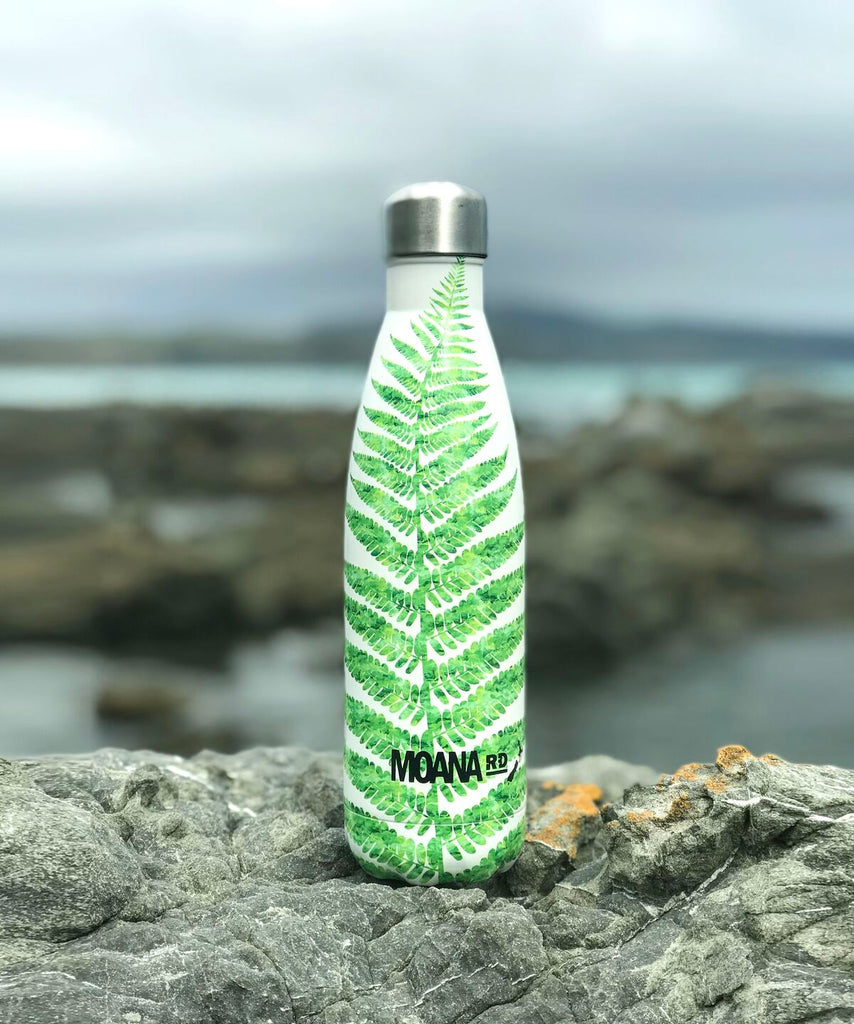 Moana Rd Drink Bottle 500 ml - Fern