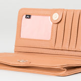 Rusty Poppy Wallet - Tan