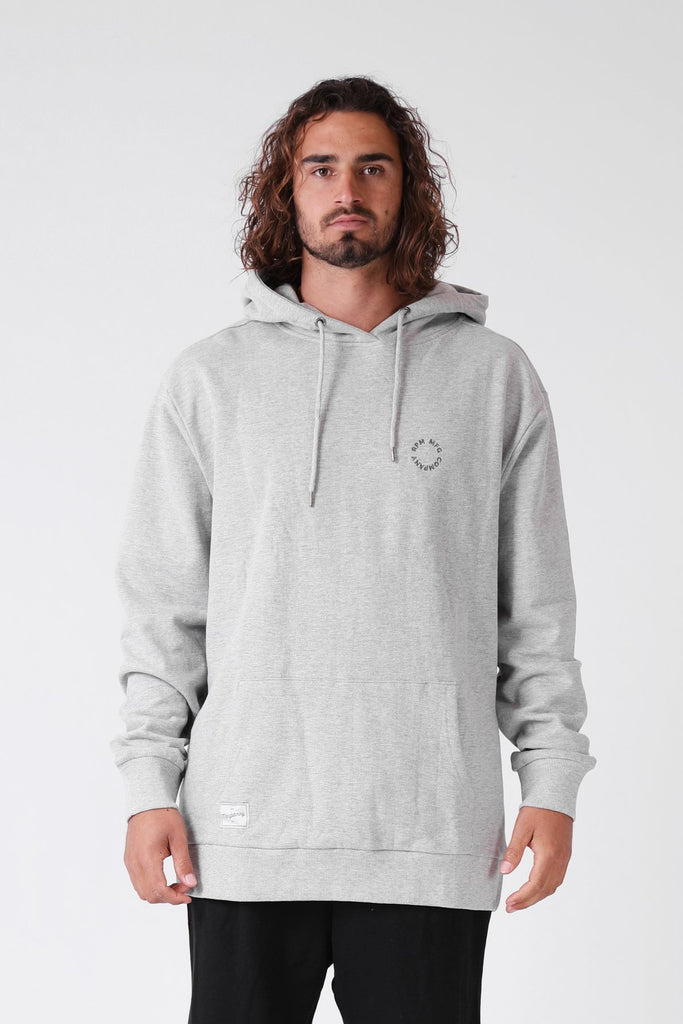 RPM Daily Hood - Grey Marle