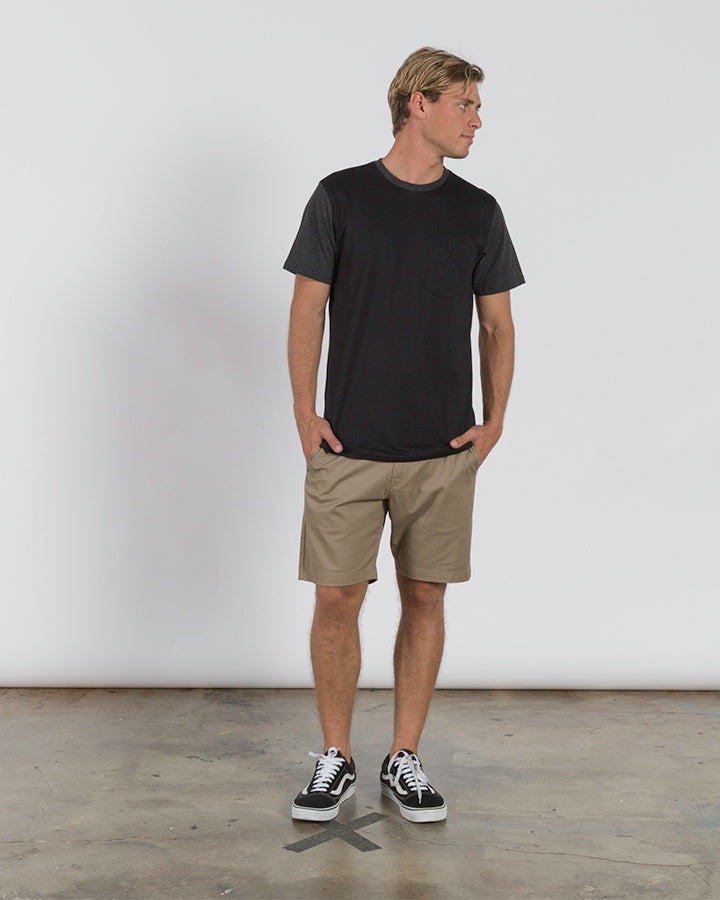 Volcom Division SS Tee - Black