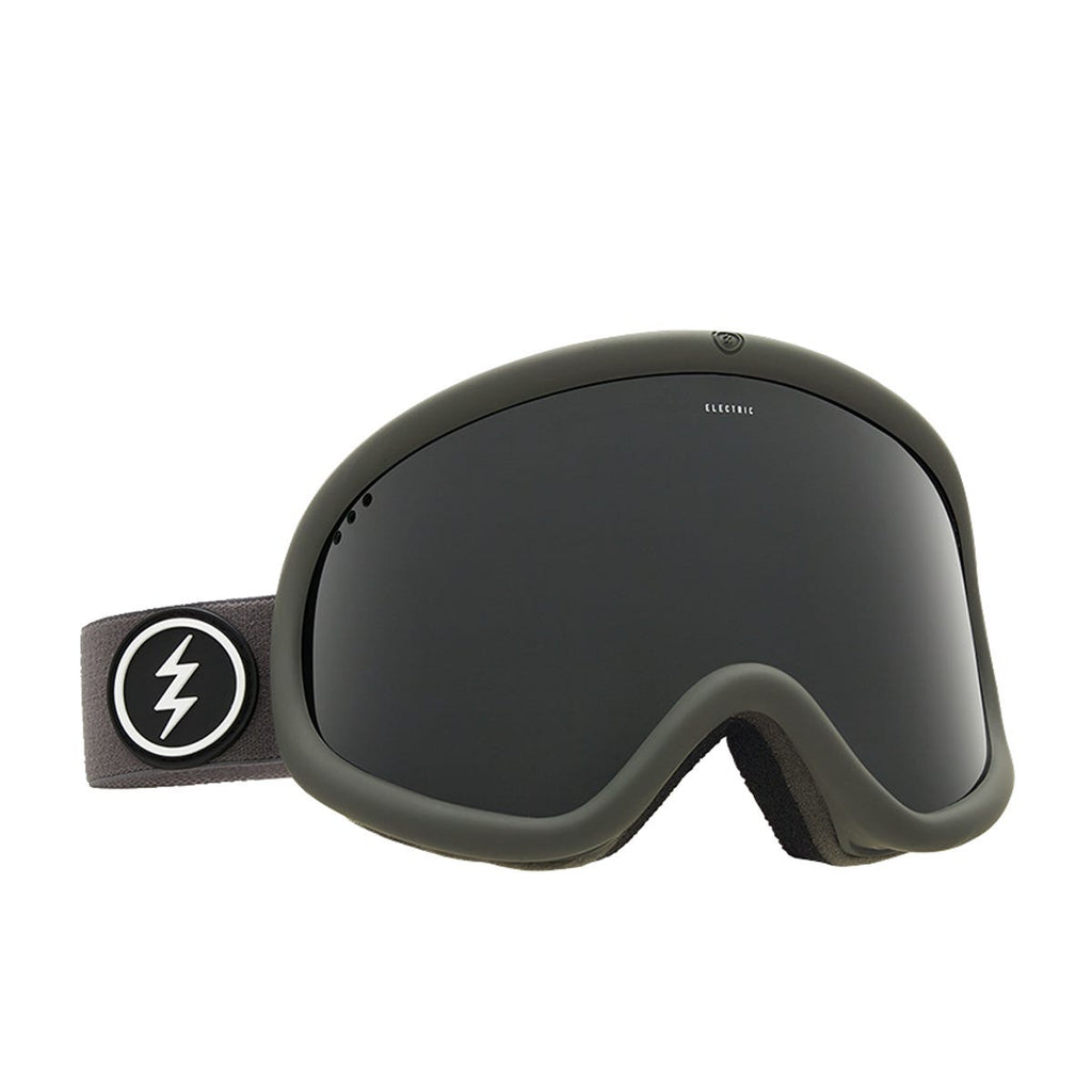 Electric Charger XL Snow Goggles - Matte Black