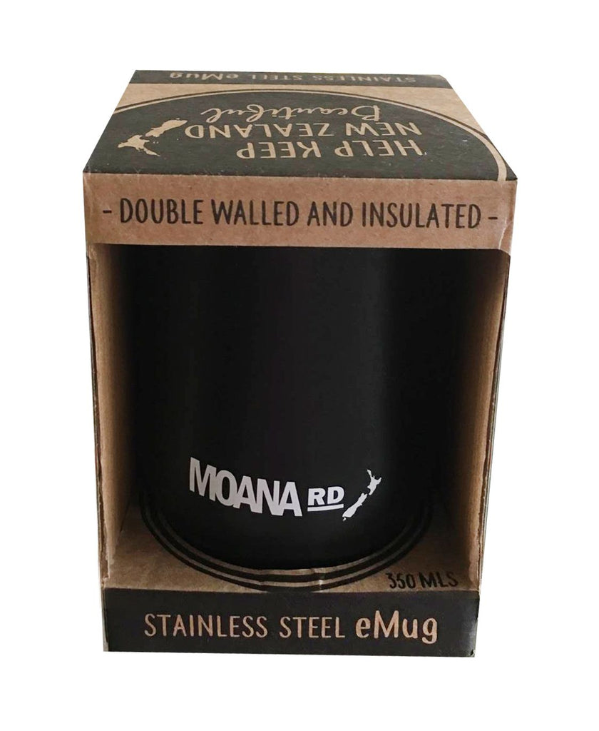 Moana Rd eMug Reusable Mug - Black
