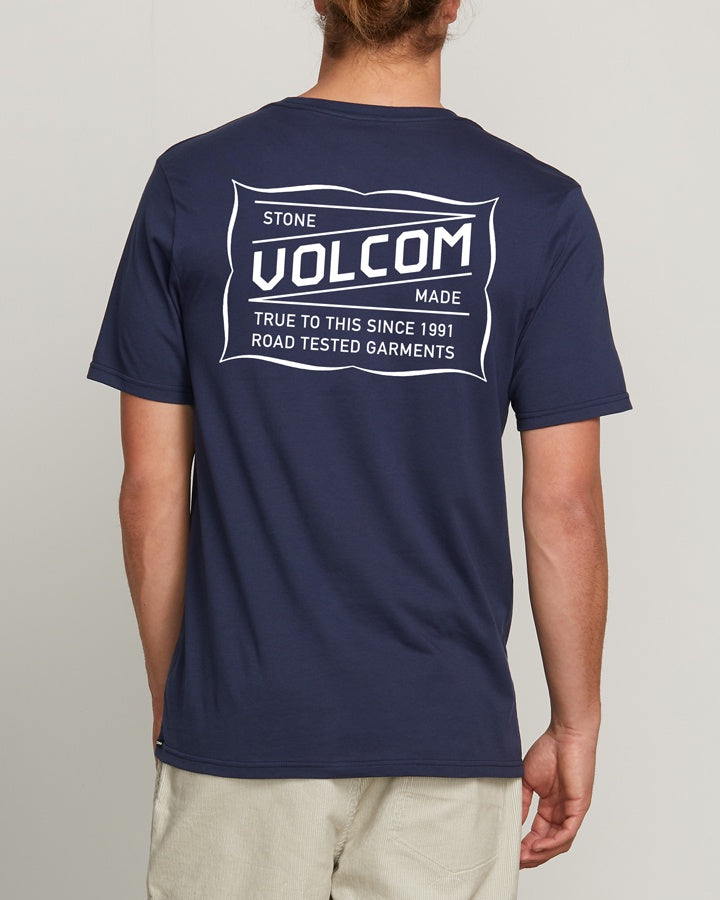 Volcom Road Test SS Tee - Navy