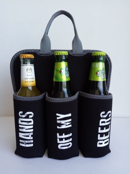Moana Rd 6 Pack Holder - Hands Off My Beers