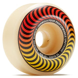Spitfire Wheels F4 - 99 Classic Faders 52mm - Red/Yellow