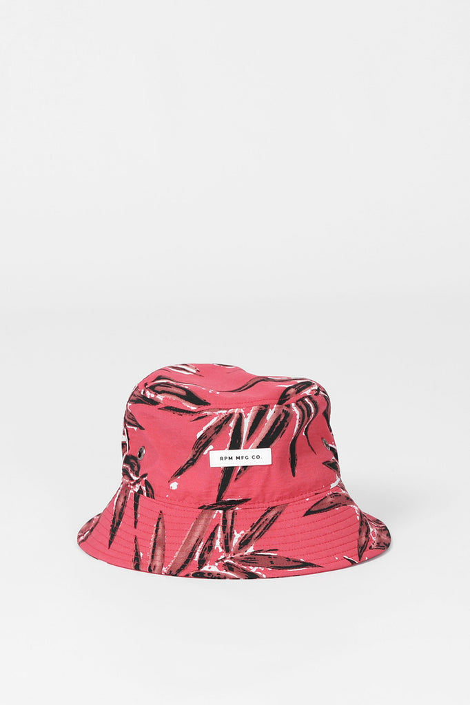 RPM Bucket Hat - Red Floral
