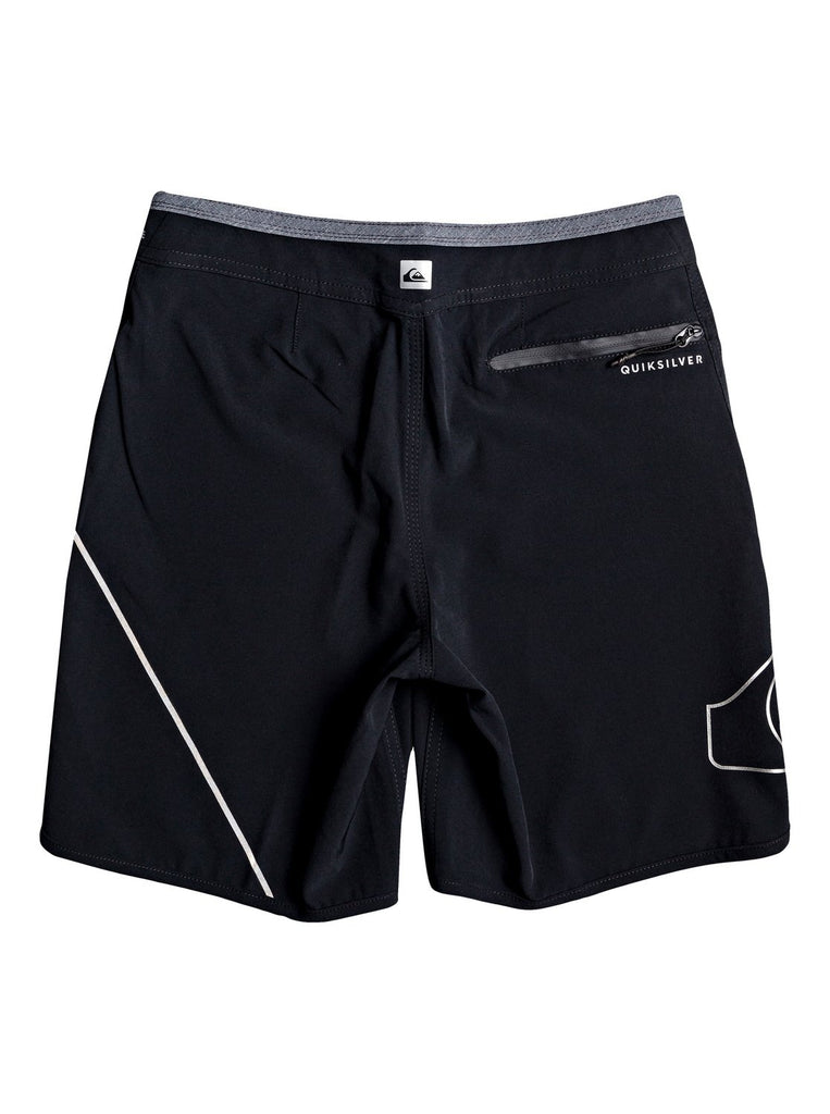 Quiksilver Youth Highline New Wave 16 Boardies - Black