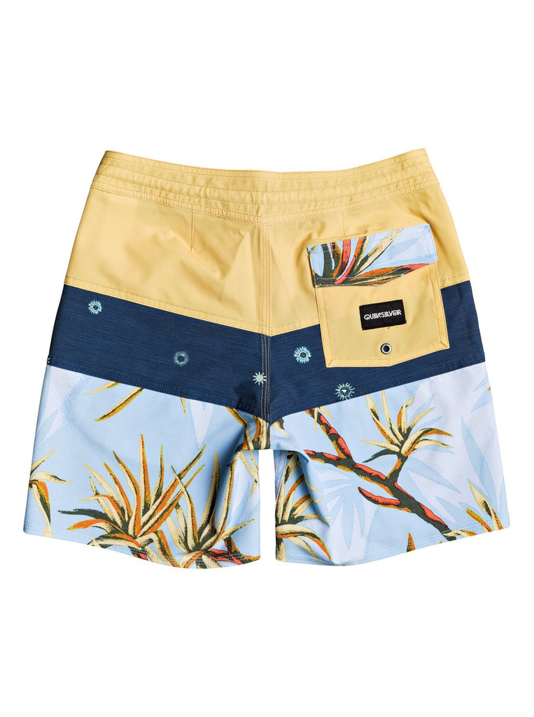Quiksilver Youth Salty Palms Beachshort - Misted Yellow