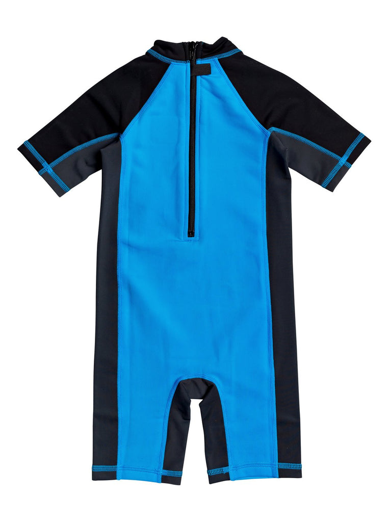 Quiksilver Boys Thermo Spring Rashie - Punch Blue