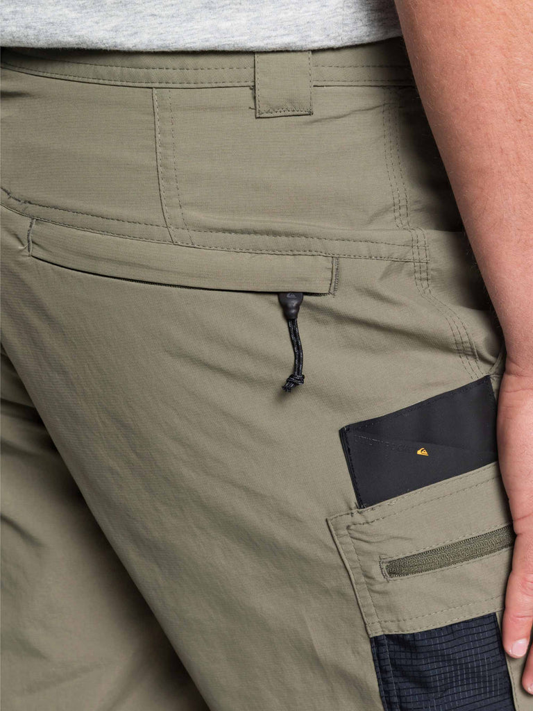 Quiksilver Skipper Shorts - Dusty Olive