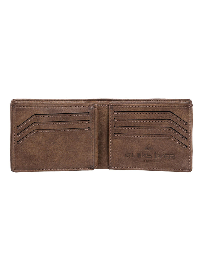 Quiksilver Tenderboat 2 Wallet - Chocolate Brown