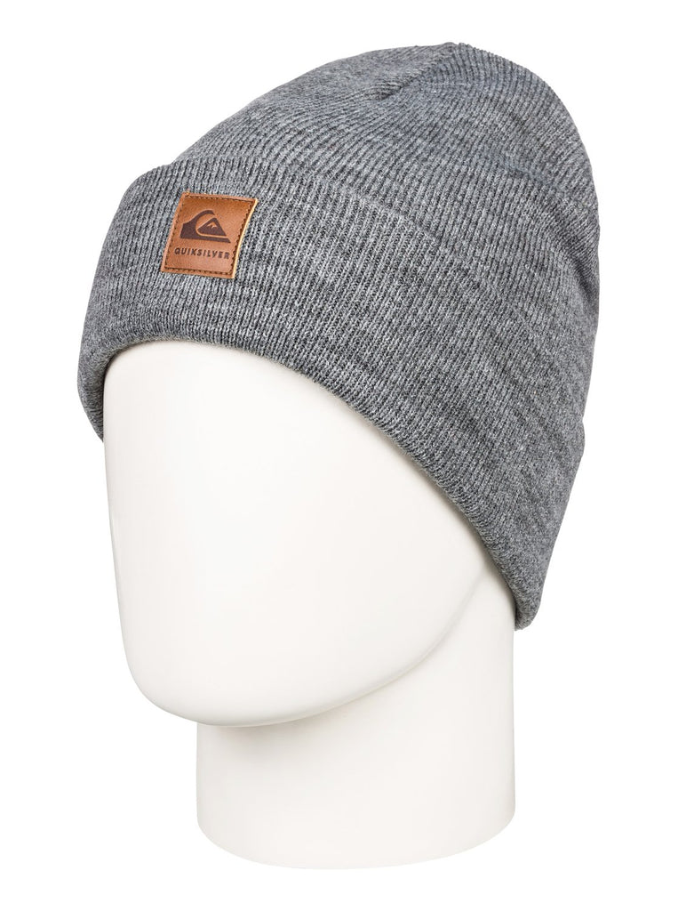 Quiksilver Brigade Beanie - Black Heather