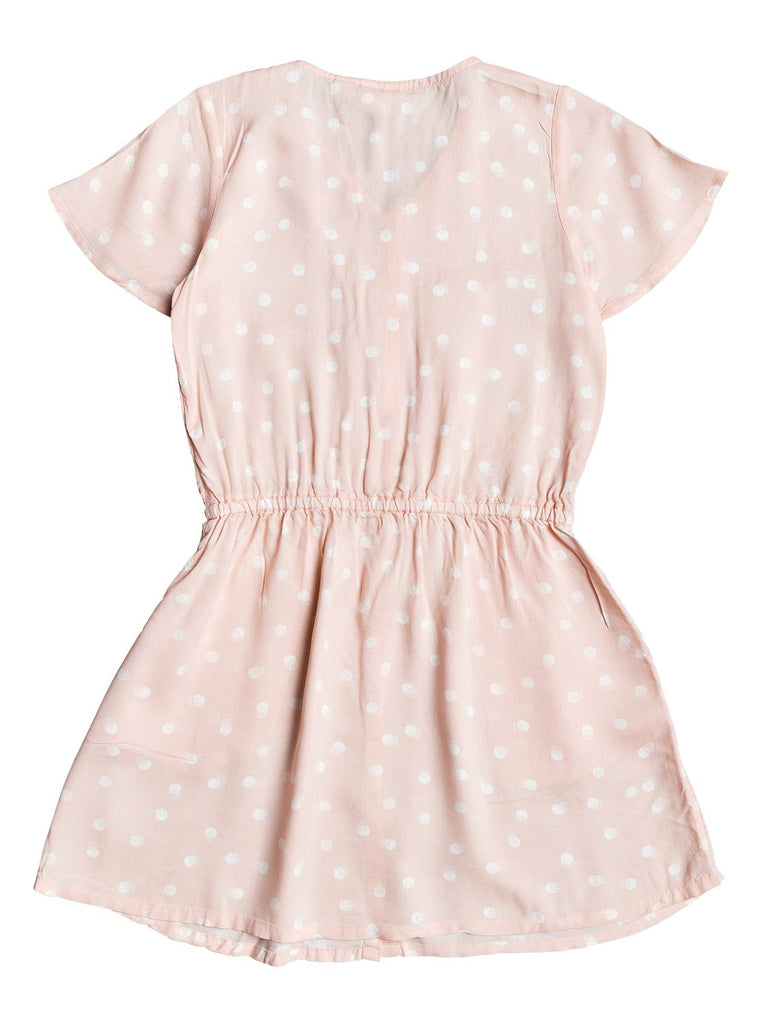 Roxy Girls Love That Life Dress - Evening Sand Double Moon