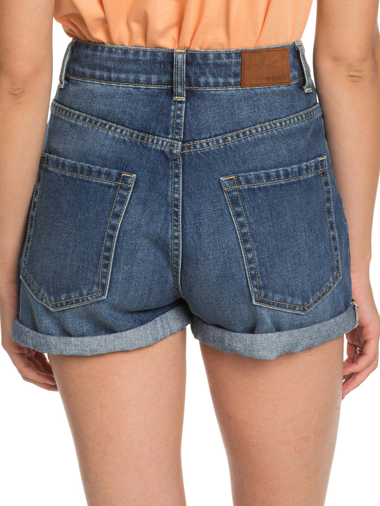 Roxy Here Its Me Shorts - Medium Blue