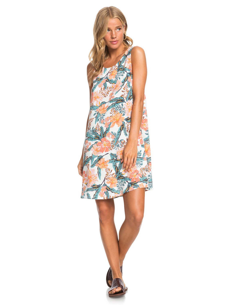 Roxy Sweet Whisper Dress - Snow White