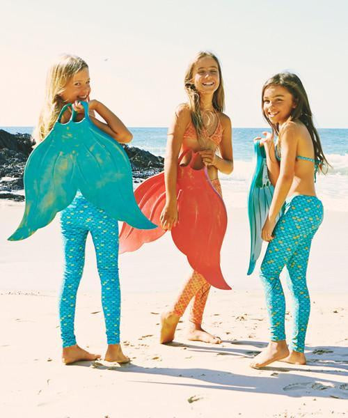 Mahina Merfins Junior and Adult Sizes - Assorted Colours