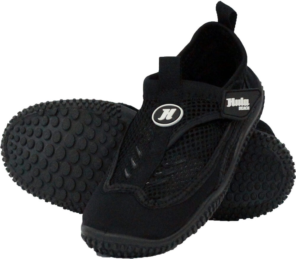 Hula Beach Youth Reef Shoes - Black