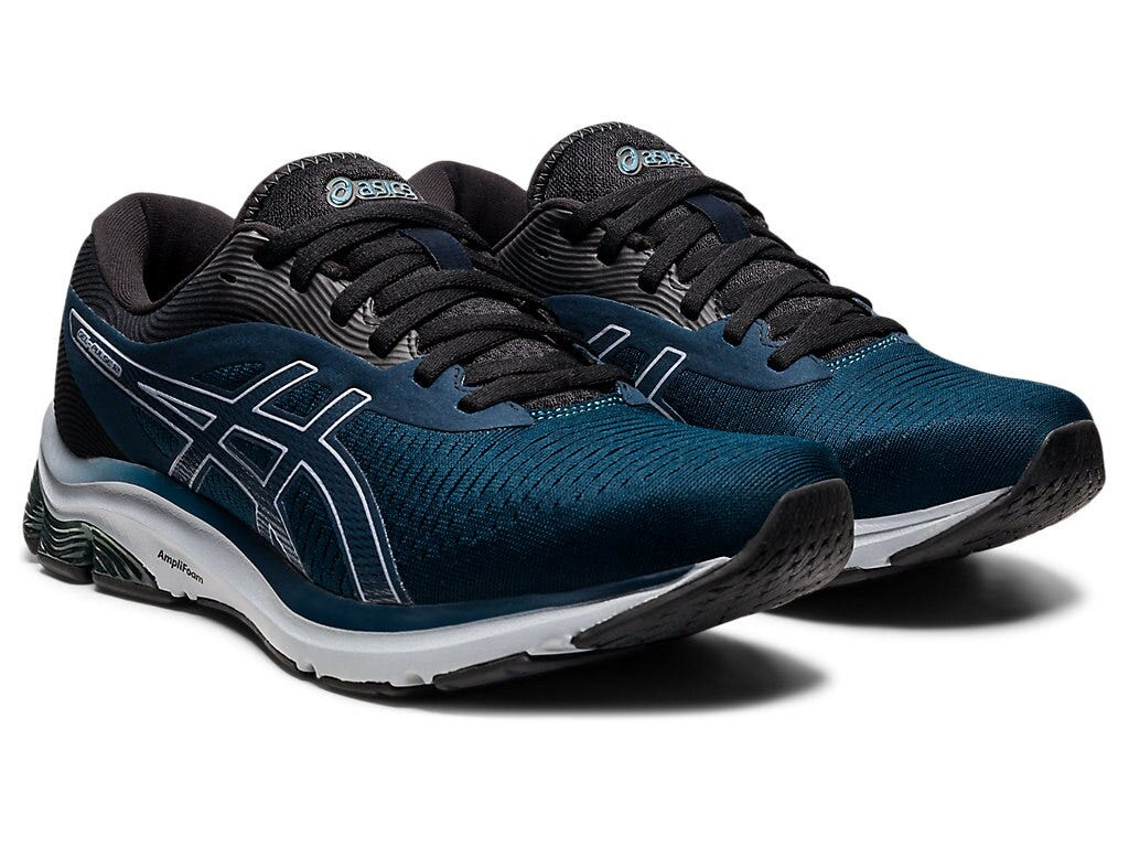 Asics Mens Gel-Pulse 12 - French Blue/Sheet Rock