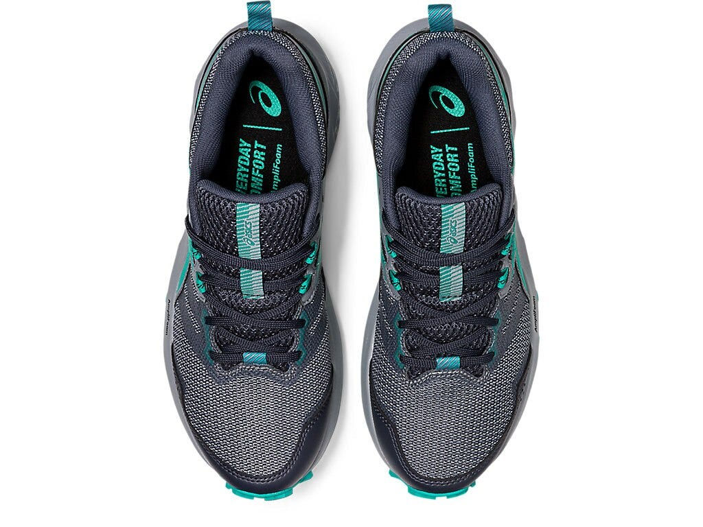 Asics Gel Sonama 6 Womens Trail Running Shoe - Carrier Grey/Baltic Jewel