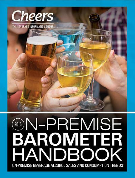 On-Premise Beverage Alcohol Consumption Continues to Decline, According to Cheers BARometer Report