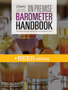 2015 Cheers On-Premise BARometer Handbook - Beer Edition with CD