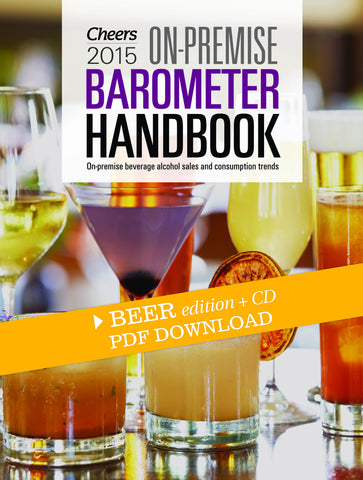 2015 Cheers On-Premise BARometer Handbook PDF - Beer Edition with CD