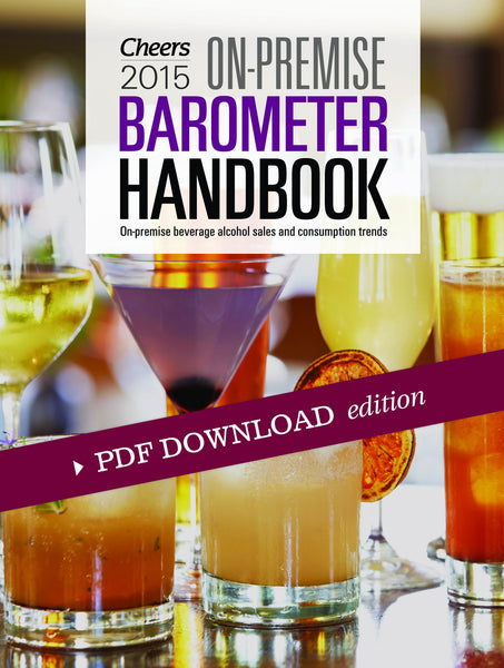 2015 Cheers On-Premise BARometer PDF Handbook with CD
