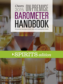 2015 Cheers On-Premise BARometer Handbook - Spirits Edition with CD