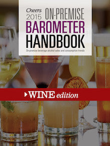 2015 Cheers On-Premise BARometer Handbook - Wine Edition with CD